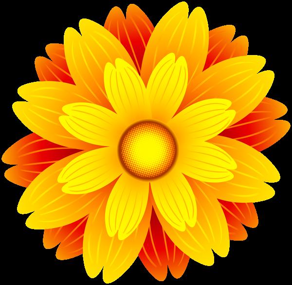 Orange Flower clipart #7, Download drawings