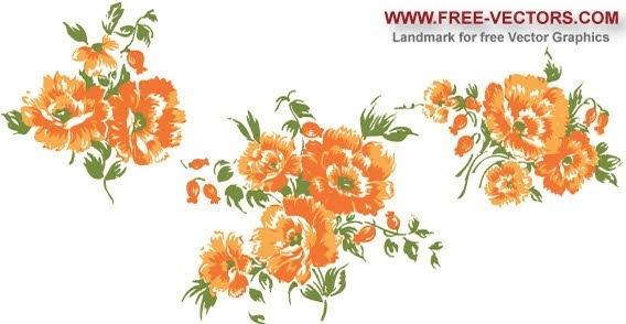 Orange Flower clipart #16, Download drawings