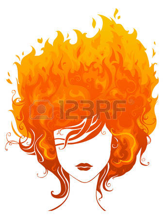 Orange Hair clipart #9, Download drawings