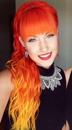 Orange Hair coloring #16, Download drawings