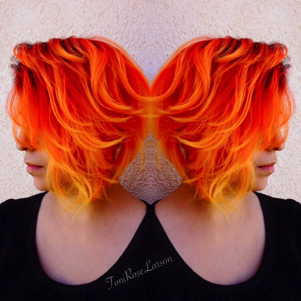 Orange Hair coloring #7, Download drawings
