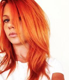 Orange Hair coloring #6, Download drawings