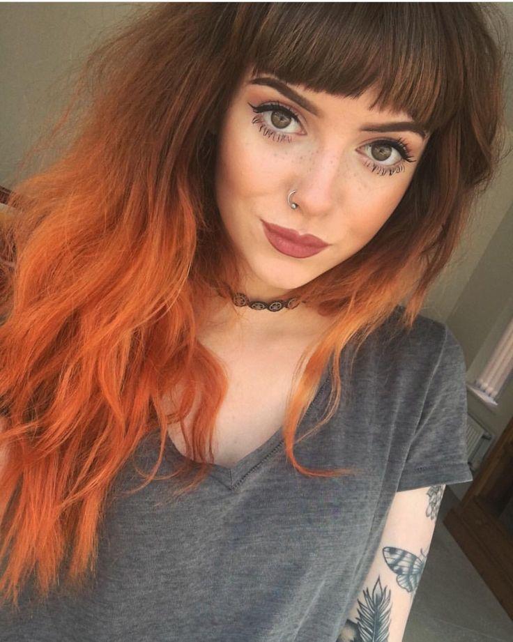 Orange Hair coloring #9, Download drawings