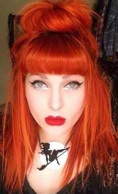 Orange Hair coloring #3, Download drawings