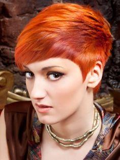 Orange Hair coloring #2, Download drawings
