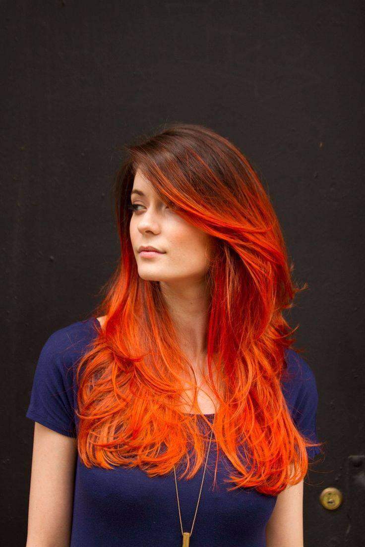 Orange Hair coloring #13, Download drawings