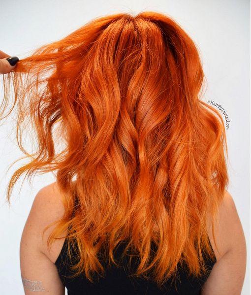 Orange Hair coloring #20, Download drawings