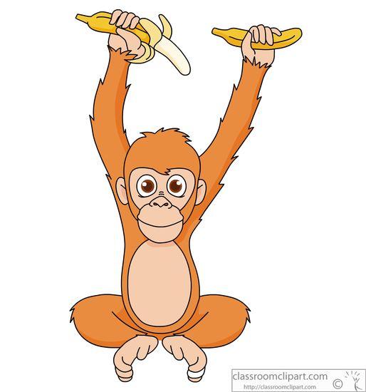 Orangutan clipart #16, Download drawings
