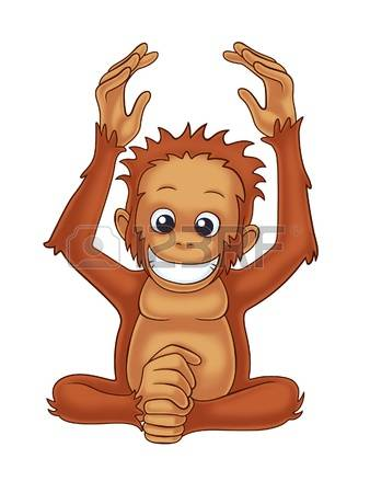 Orangutan clipart #11, Download drawings