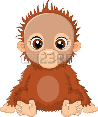 Orangutan clipart #14, Download drawings