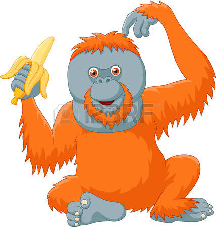 Orangutan clipart #10, Download drawings
