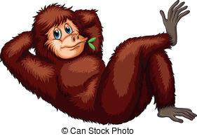 Orangutan clipart #3, Download drawings