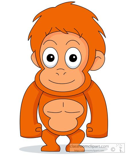 Orangutan clipart #13, Download drawings