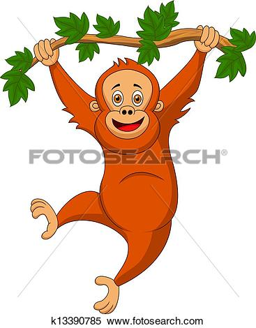 Orangutan clipart #12, Download drawings