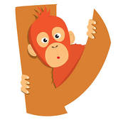 Orangutan clipart #20, Download drawings