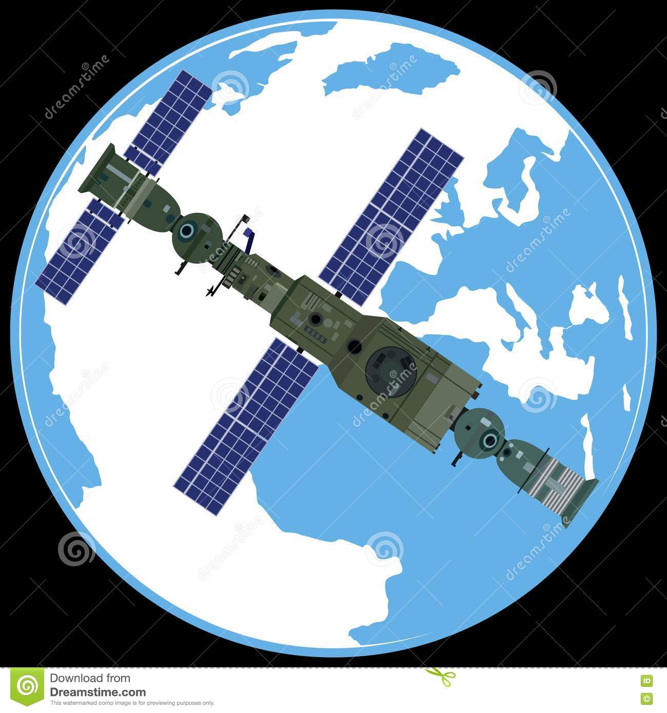 Orbital Station clipart #20, Download drawings