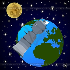 Orbital Station clipart #3, Download drawings