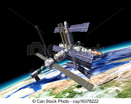 Orbital Station clipart #19, Download drawings