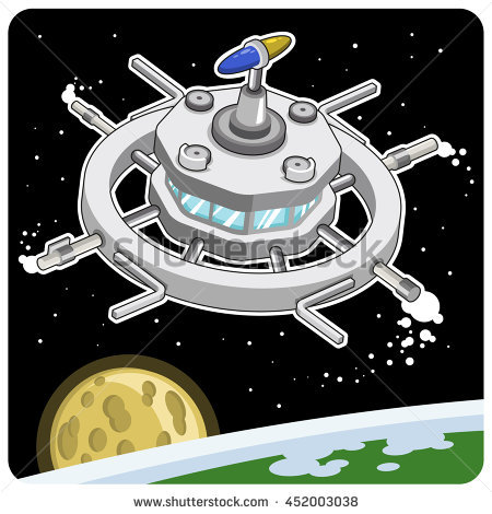 Orbital Station clipart #1, Download drawings