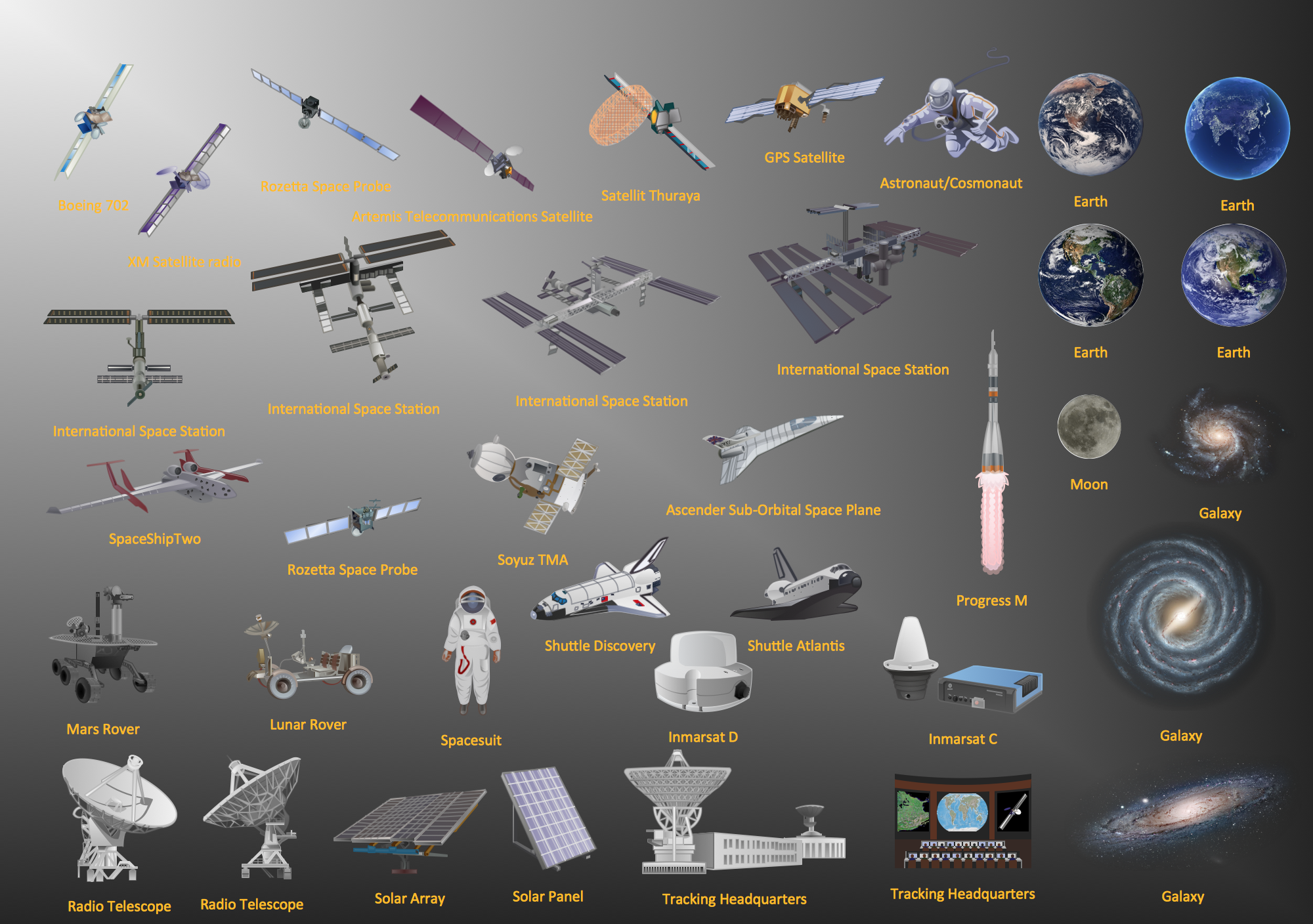 Orbital Station clipart #2, Download drawings