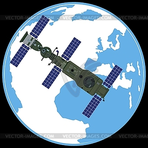 Orbital Station clipart #5, Download drawings