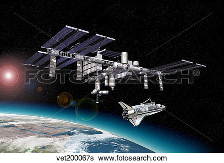 Orbital Station clipart #17, Download drawings