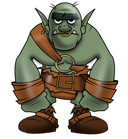 Orc clipart #20, Download drawings