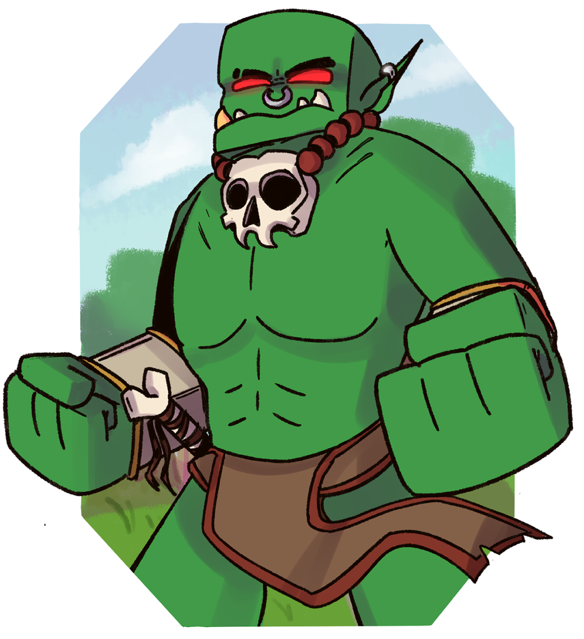 Orc clipart #1, Download drawings