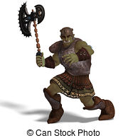 Orc clipart #6, Download drawings