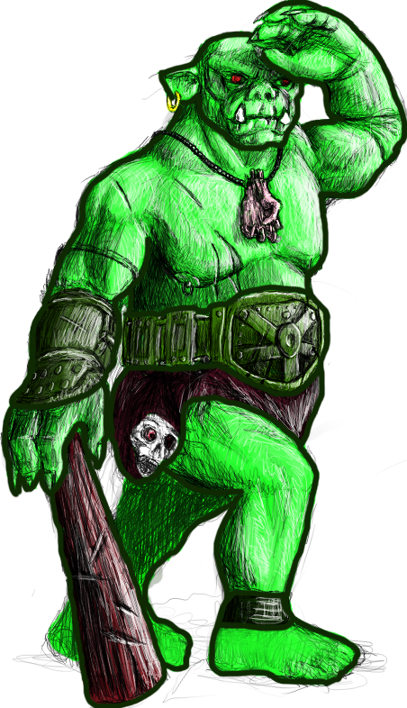 Orc clipart #12, Download drawings