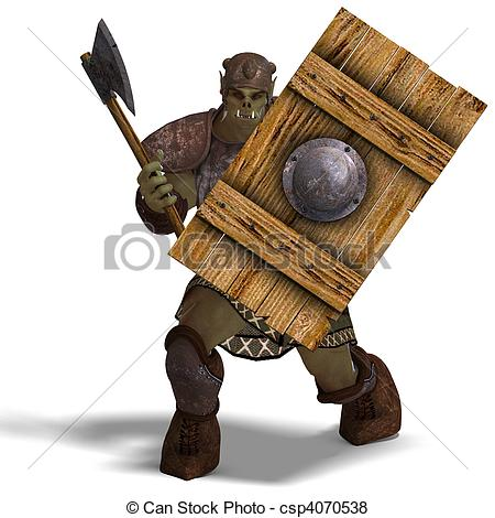 Orc clipart #7, Download drawings