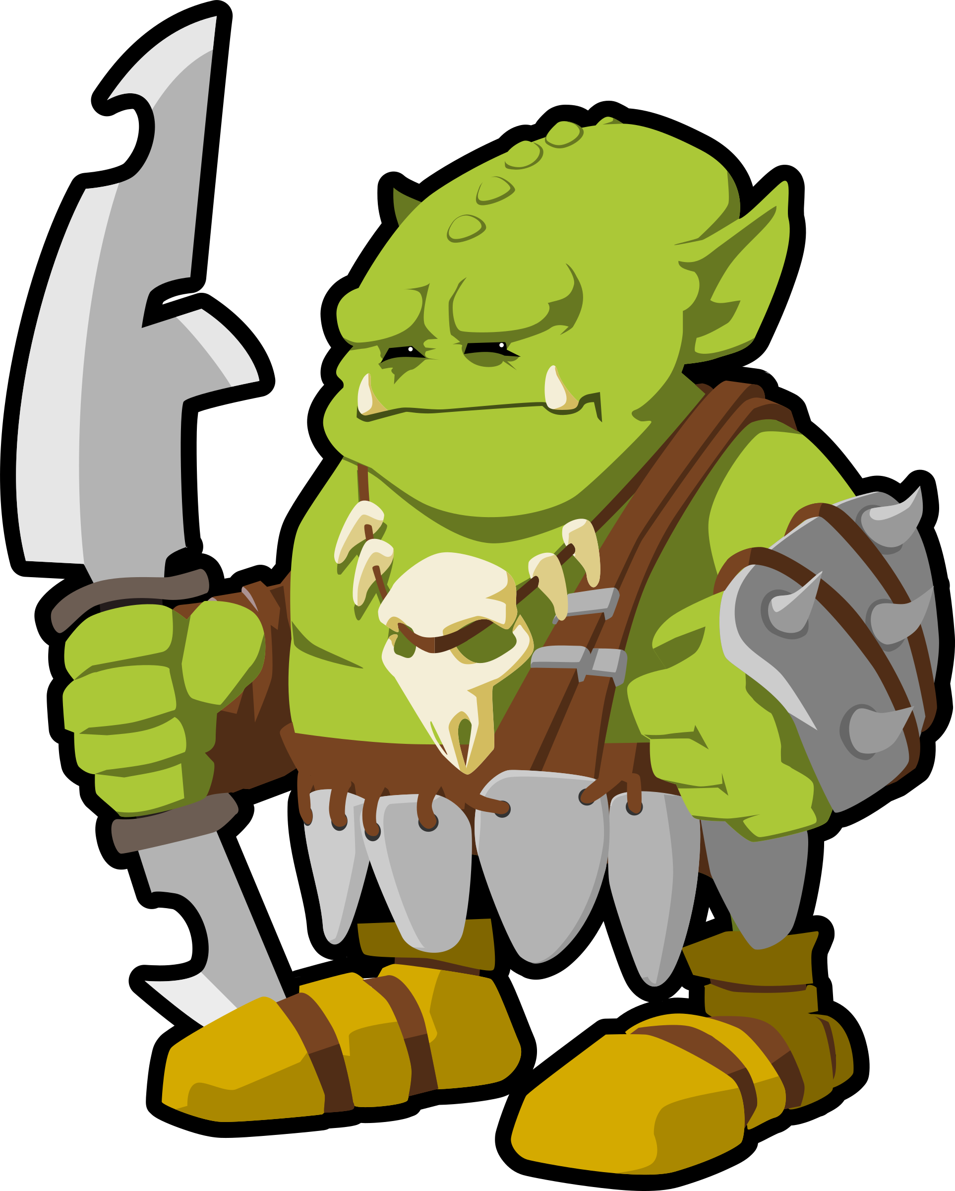 Orc clipart #17, Download drawings