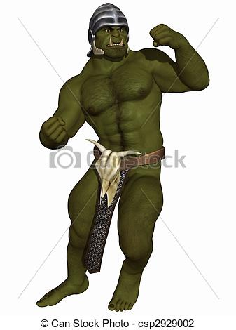 Orc clipart #5, Download drawings