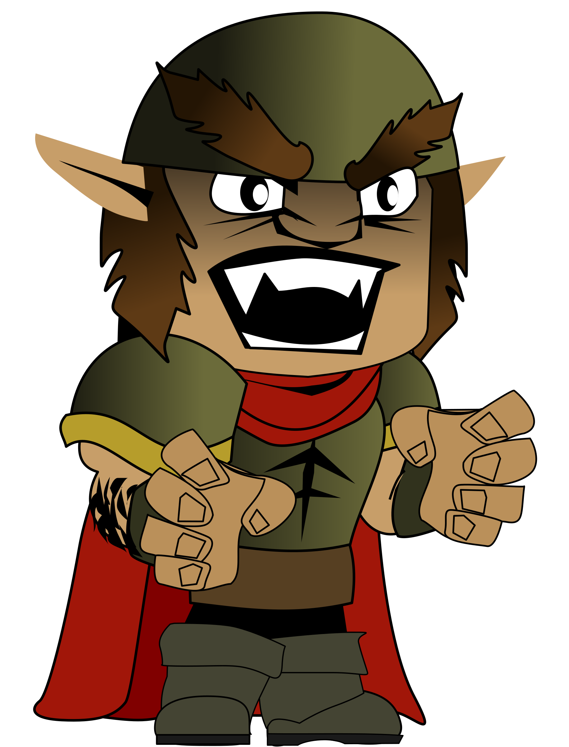 Orc clipart #9, Download drawings