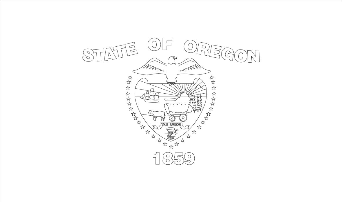 Oregon Island coloring #6, Download drawings