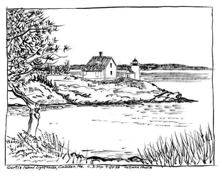 Oregon Island coloring #11, Download drawings