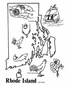 Oregon Island coloring #17, Download drawings