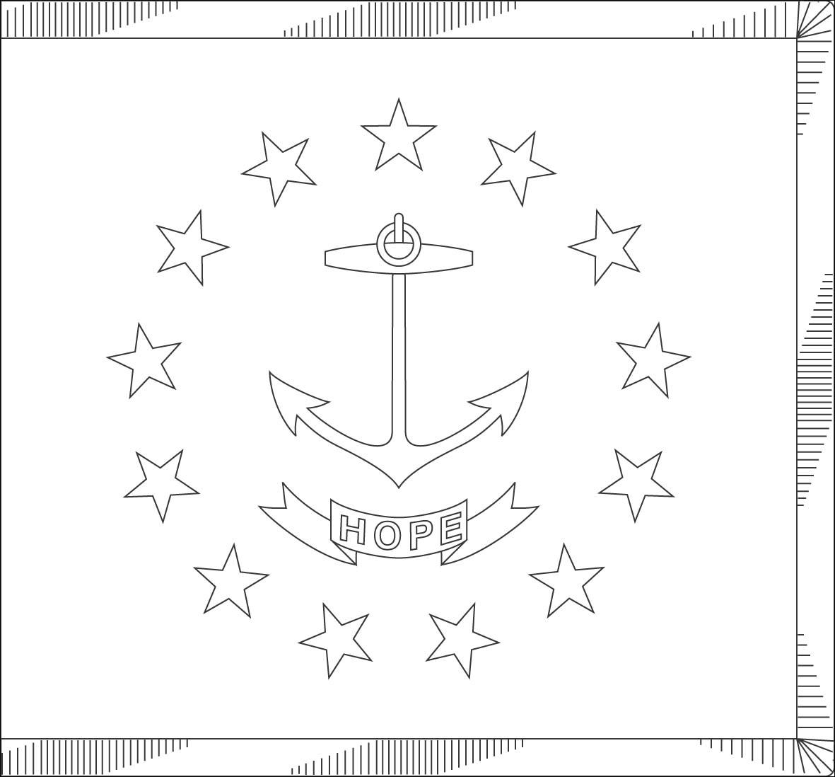 Oregon Island coloring #15, Download drawings