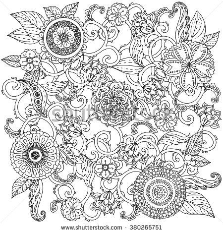 Orient coloring #5, Download drawings