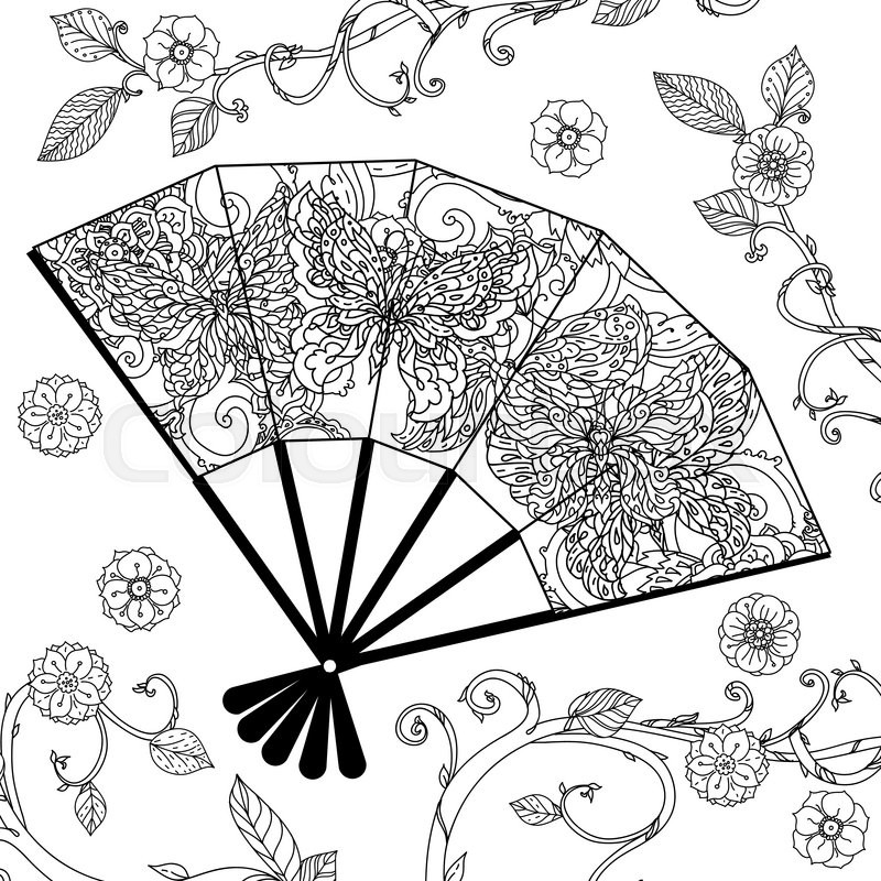 Oriental coloring #1, Download drawings
