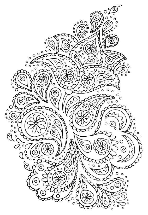 Oriental coloring #3, Download drawings