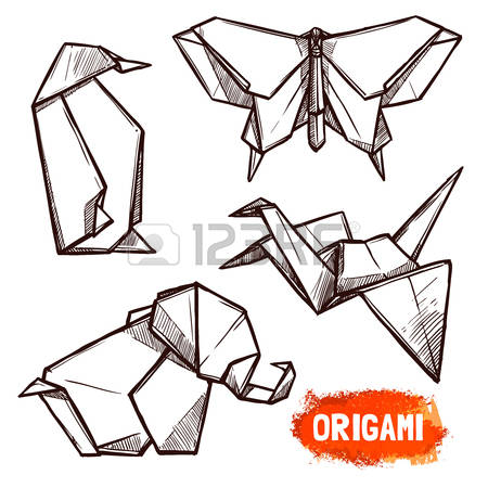 Origami clipart #9, Download drawings