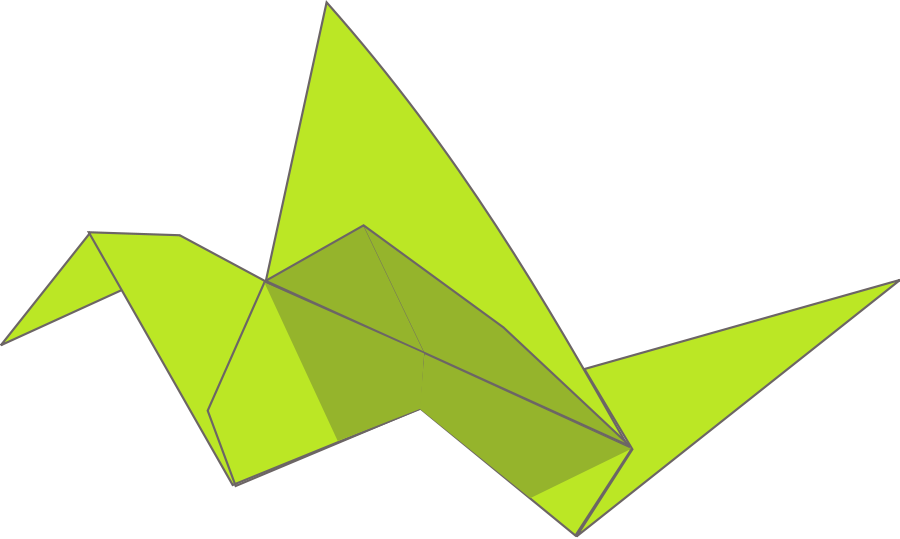 Origami clipart #6, Download drawings