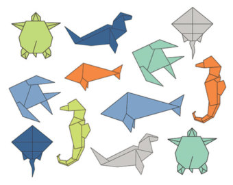 Origami clipart #16, Download drawings