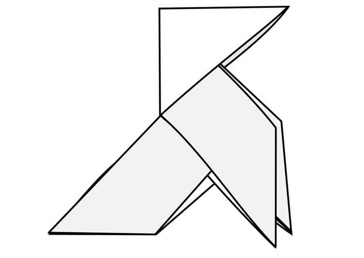Origami coloring #3, Download drawings