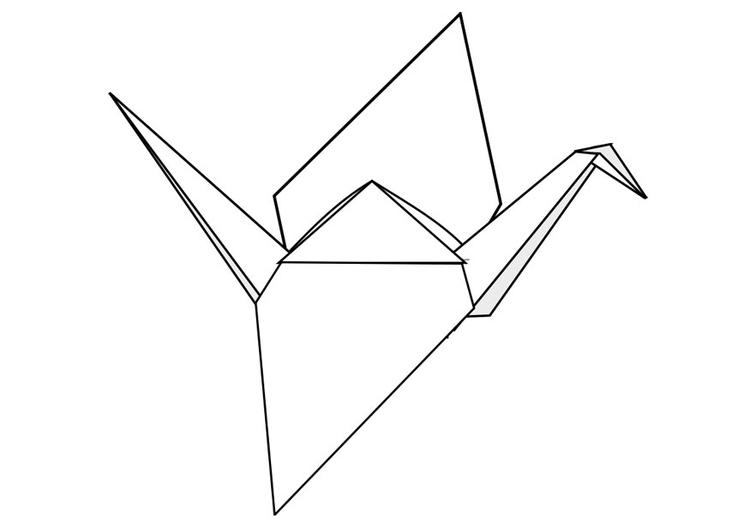Origami coloring #8, Download drawings