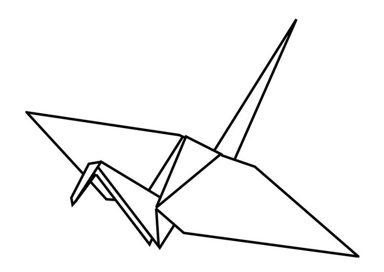 Origami coloring #5, Download drawings