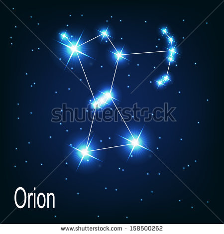 Orion Constellation clipart #1, Download drawings