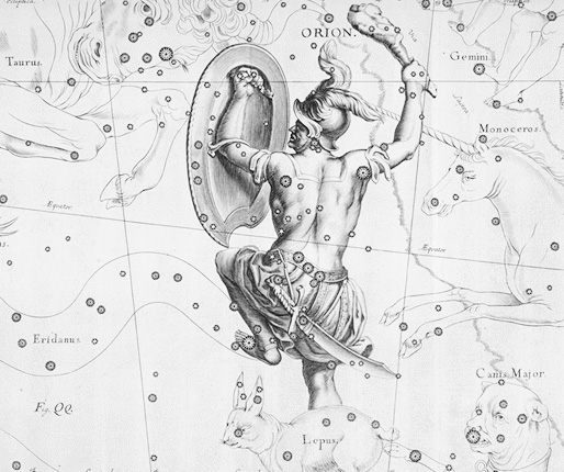 Orion Constellation coloring #7, Download drawings