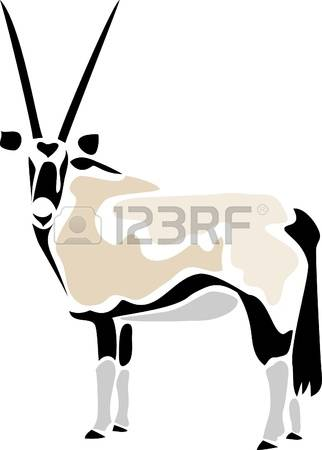 Oryx clipart #16, Download drawings